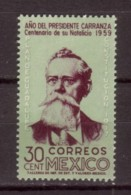 TIMBRE NEUF DU MEXIQUE - PRESIDENT CARRANZA N° Y&T 808 - Beroemde Personen