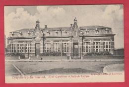 Chapelle-lez-Herlaimont - Ecole Gardienne Et Salle De Lecture - 1908 ( Voir Verso ) - Chapelle-lez-Herlaimont
