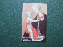 VATICANO N.17 NUOVA Sassetta Madonna Col Bambino Pinacoteca Vaticana