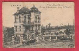 """Linkebeek - Villa """" Chez Nous """" , Prop. E. Geissler  - Oldtimer ( Voir Verso ) - Linkebeek"""