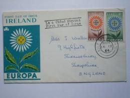 IRELAND 1964 EUROPA FIRST DAY COVER - 1949-... Repubblica D'Irlanda