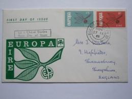 IRELAND 1965 EUROPA FDC - 1949-... Repubblica D'Irlanda