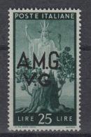 ITALIE : Venezia Giulia – Allied Occupation Nr 19  ** MNH – (1945-47) - Trieste