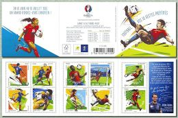 FRANCE N°1278.1287 CARNET FOOT EURO 2016 - Frankrijk