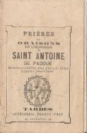 Tarbes-prieres Et Oraisons à Saint Antoine De Padoue - Religion &  Esoterik