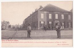 Mechelen Aan De Maas.Het Lokaal Der Koninklijke Fanfare Op Het Kerkplein. - Maasmechelen