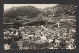 DF / 66 PYRENEES ORIENTALES / CAUDIES-DE-FENOUILLÈDES / VUE GENERALE AÉRIENNE ET COL DE ST-LOUIS - France