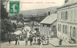 71 - CHISSEY EN MORVAN - LA FOIRE FORAINE TRES ANIMEE - - Francia