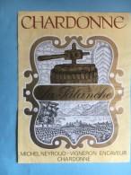 1167 -  Suisse Vaud Chardonne La Palanche - Etiquettes