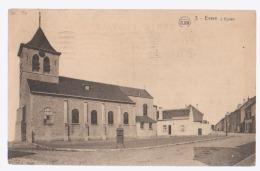 Cpa Evere  église 1926 - Evere