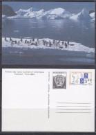 TAAF 1989 Max Douguet Postal Stationery N° 2 Unused (31124) - Postwaardestukken