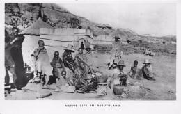 ¤¤   -  LESOTHO   -  Carte-Photo   -  Native Life In BASUTOLAND      -  ¤¤ - Lesotho