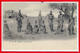 AFRIQUE --  D.S.W. AFRIKA   - Gefangene - Postcards