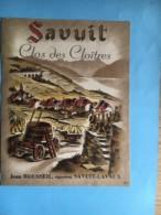 1191 - Suisse Vaud Savuit Clos Des Cloîtres - Etiquetas