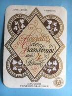 1192 - Suisse Vaud Fleurettes De Grandaux Aux 4 Plants - Etiquettes