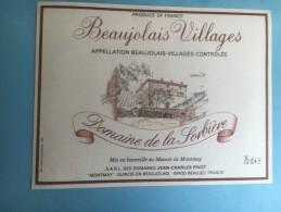 1193 - Beaujolais Village Domaine De La Sorbière - Beaujolais
