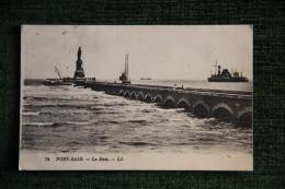 PORT SAID - La Jetée - Port-Saïd