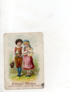 Image Publicitaire Chocolat Poulain - Vieux Papiers