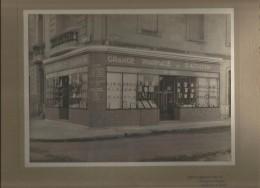 BORDEAUX (33) SUPERBE PHOTO ANCIENNE DE LA GRANDE PHARMACIE DE ST AUGUSTIN (BOUSQUET)  PHOTO PALIS BORDEAUX CAUDERAN - Places