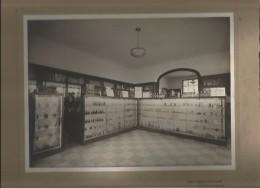 BORDEAUX (33) SUPERBE PHOTO ANCIENNE DE L'INTERIEUR DE LA GRANDE PHARMACIE DE ST AUGUSTIN (BOUSQUET) PHOT PALIS BORDEAUX - Places