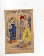 IMAGE PUBLICITAIRE CHAUSSURE INCROYABLE - Vieux Papiers