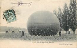 55 - MEUSE - Verdun - Ballon Militaire - Garde - Aérostation - Militaire - Verdun