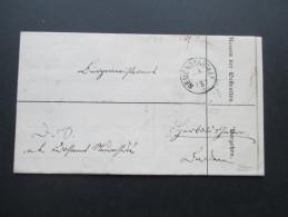 AD Vorphila Baden 1869 Neuenstadt A.d. K1 Insgesamt 4 Stempel! Barstempel Neudenau. Heilbronn.Strafzettel / Schuldschein - Bade