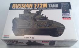 Russian T-72M 1/48 Télécommandé à Fil  /  Wire  Remote Controlled  ( ARII ) - Military Vehicles
