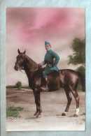 Carte Photo - Militaria - Cavalier - REX 1346 - Uniformi