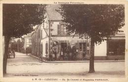 56 - MORBIHAN - Cléguérec - Rue Du Couvent - Magasins Fondain