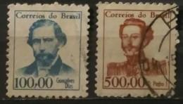 1965 - 1966. BRASIL. PERSONAJES. USADO - USED. - Used Stamps