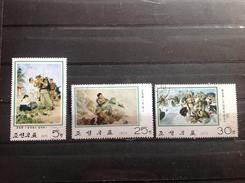 Noord-Korea / North Korea - Serie Oorlogsschilderijen 1975 - Korea (Noord)