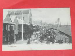 BERMUDA / BERMUDES    1902    FRONT STREET    CIRC NON EDITION - Bermudes