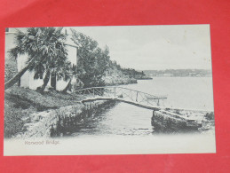 BERMUDA / BERMUDES    1902   NORWOOD BRIDGE   CIRC NON EDITION - Bermudes