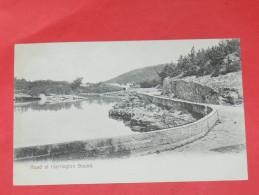 BERMUDA / BERMUDES    1902   ROAD AT HARRINGTON SOUND   CIRC NON EDITION - Bermudes