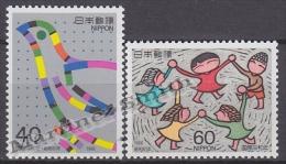 Japan - Japon 1986 Yvert 1607-08, International Year Of Peace - MNH - 1926-89 Emperor Hirohito (Showa Era)