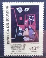 1981. ECUADOR. The 100th Anniversary Of The Birth Of Pablo Picasso. USADO - USED. - Equateur