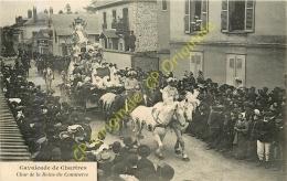 28. Cavalcade De CHARTRES .  Char De La Reine Du Commerce . - Chartres