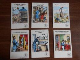 Lot De 6 Cartes Collection  Historique Des Télécommunications Images D´Epinal -  Téléphone Télégraphe - History