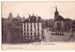 LAUSANNE: Place St-François - VD Vaud