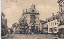 Wavre - Place De L´Hôtel De Ville (animée, Café Du Théâtre, Charlier-Nizet) - Waver