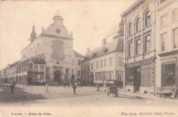 Wavre - Hôtel De Ville (animée, Marchand De Glaces, Charlier-Niset, Précurseur) - Waver
