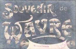 Wavre (Souvenir De) Multi-vues 1913 (pour Architecte Mr Borgers) - Waver