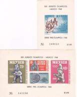 1968 Mexico 1965 Mexico PreOlympic Isuue MNH - Summer 1968: Mexico City