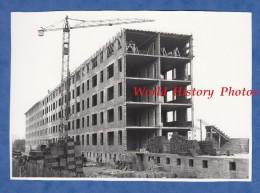 Photo Ancienne - CHALONS Sur MARNE - HLM En Construction - 26 Décembre 1959 - Photographie Pierre - Grue Batiment BTP - Métiers