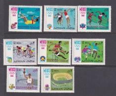 1968 Mexico Ajman Olympic Set - Summer 1968: Mexico City