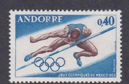 1968 Mexico Andorra MNH - Summer 1968: Mexico City