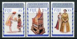 Fiji 1977 Silver Jubilee Set LHM - Fiji (1970-...)