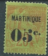 Martinique   - Yvert N°4(*)   Dent Courte - Abc0420 - Martinica (1886-1947)