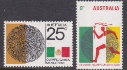 1968 Mexico Australia Olympic Games Used - Summer 1968: Mexico City